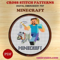Image Embroidery Patterns Minecraft