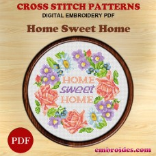 Image Embroidery Patterns Wash your hands