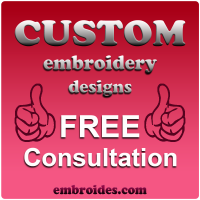 Free Embroidery Design Consultation