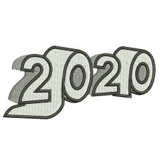 Toilet Paper 2020 Embroidery Design Image