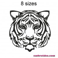 Image Tiger Embroidery Design