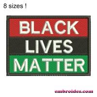 Image Black Lives Matter Embroidery Design