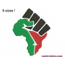 Image Machine Embroidery Design Fist Africa