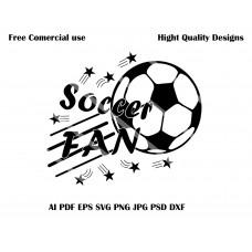 SoccerFAN Vector Design