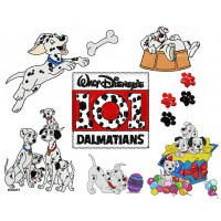 Image Free Embroidery Designs 101 Dalmatians