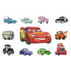 Image Disney Cars Free Embroidery Designs