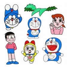Image Free Embroidery Designs Doraemon Cat and others