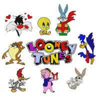 Image Embroidery Designs Looney Tunes Bugs Bunny and Other