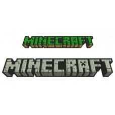 Image Minecraft Embroidery Design