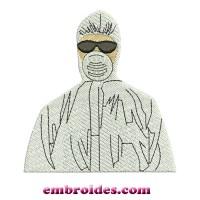 Bio Protective Embroidery Design Image